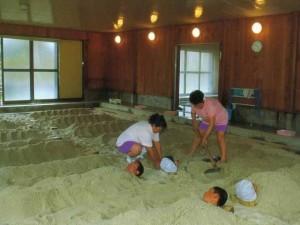 砂ゆっこ【砂かけ】